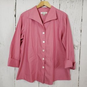 Coldwater Creek 1X pink tunic